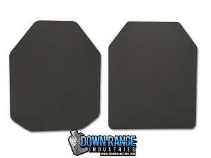 10MM Trauma Pads (non-ballistic) for AR500 Body Armor (no rip-stop cover)